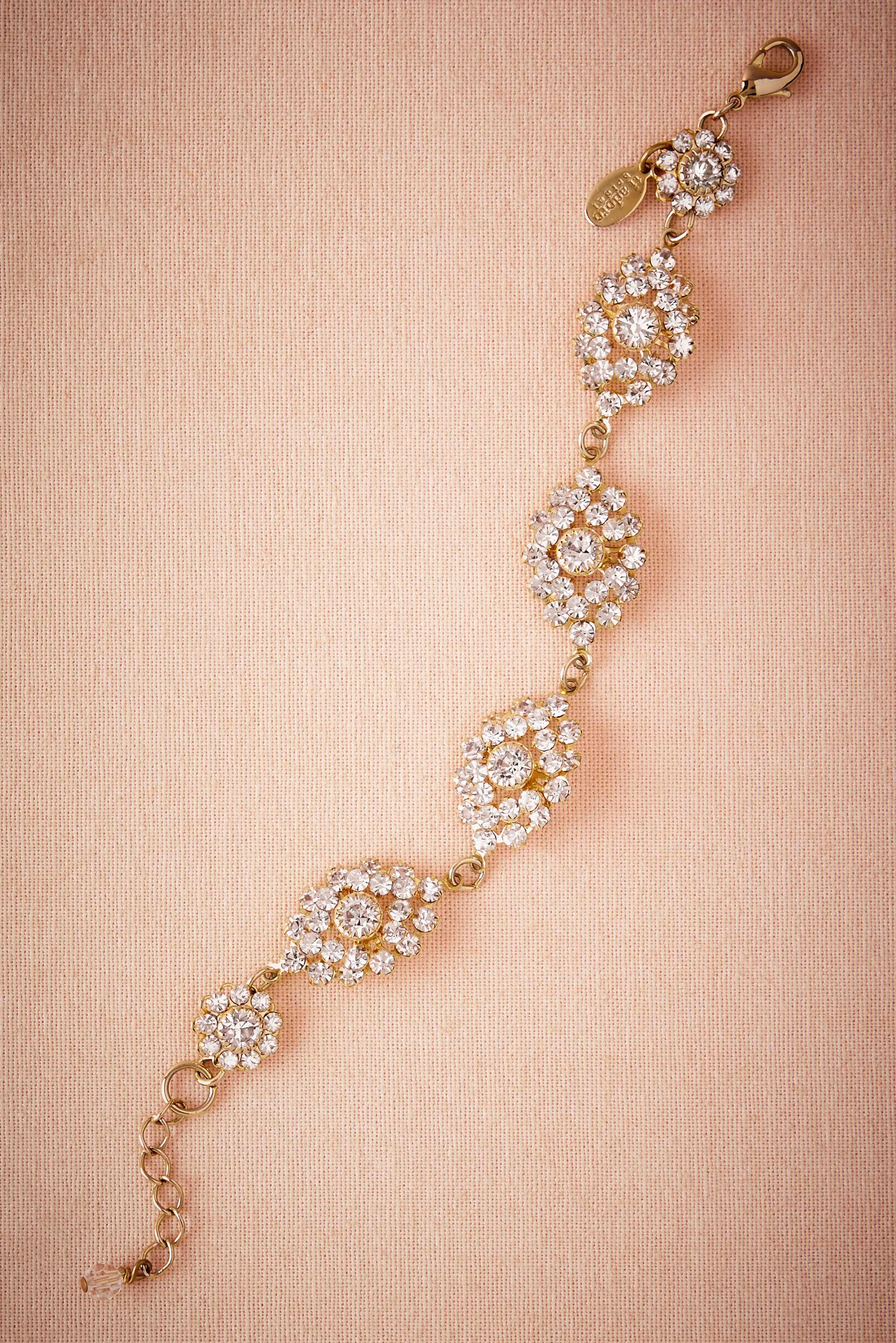 Gilded Bauble Bracelet