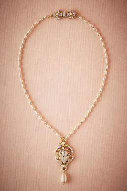 Pearl Drop Pendant Necklace