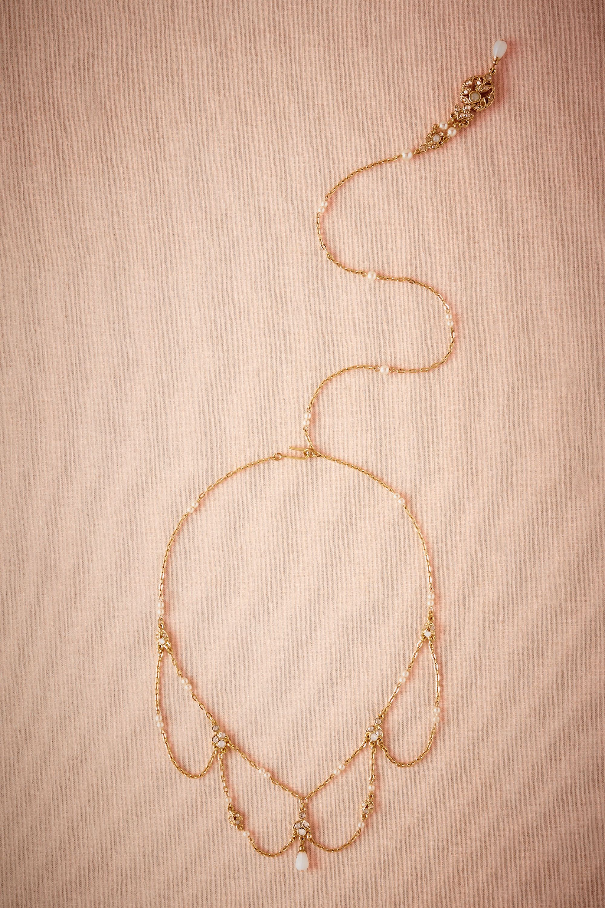 Thea Back Drop Necklace
