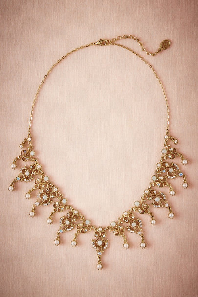 Ben-Amun Gold Gilded Rays Necklace | BHLDN