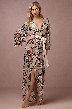 Laurie Velvet Robe