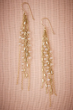 Lunar Bead Drop Earrings