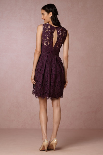 Hitherto Deep Amethyst Kinsley Dress | BHLDN
