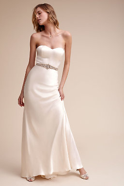 Strapless &amp- Sweetheart Wedding Dresses - BHLDN