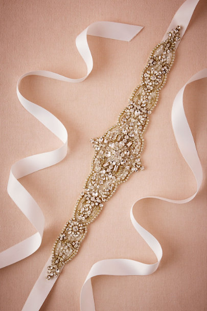 Gold Fortuna Sash | BHLDN