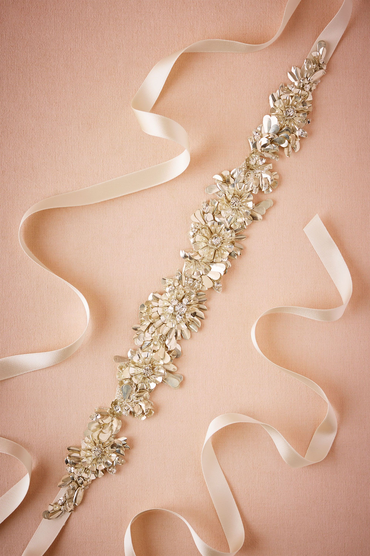 Glistening Petals Sash