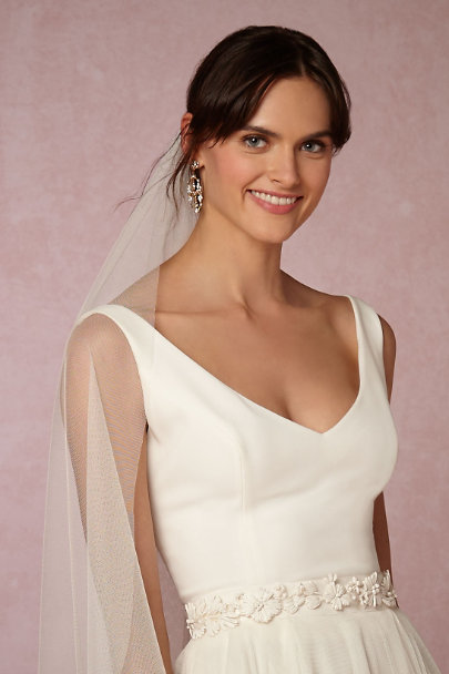 A.B. Ellie White Julietta Sash | BHLDN