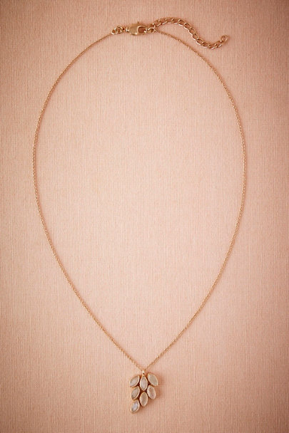 Atelier Mon Gold Lunar Cluster Necklace | BHLDN