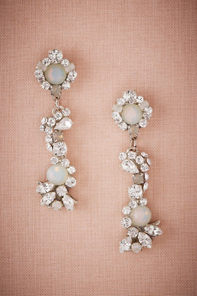 Silver Sargent Earrings | BHLDN
