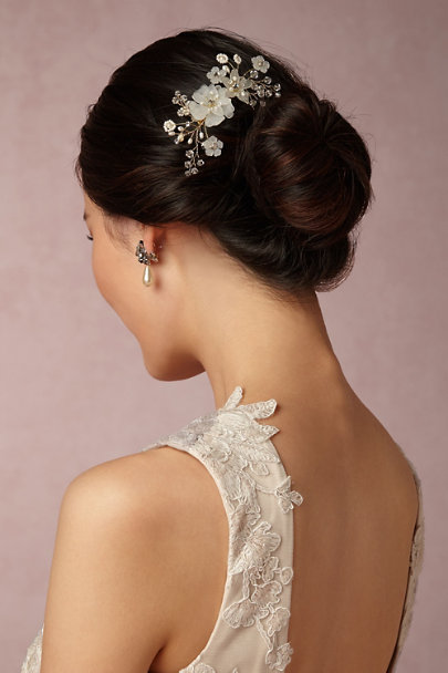 Twigs & Honey Gold Lunar Garden Comb | BHLDN