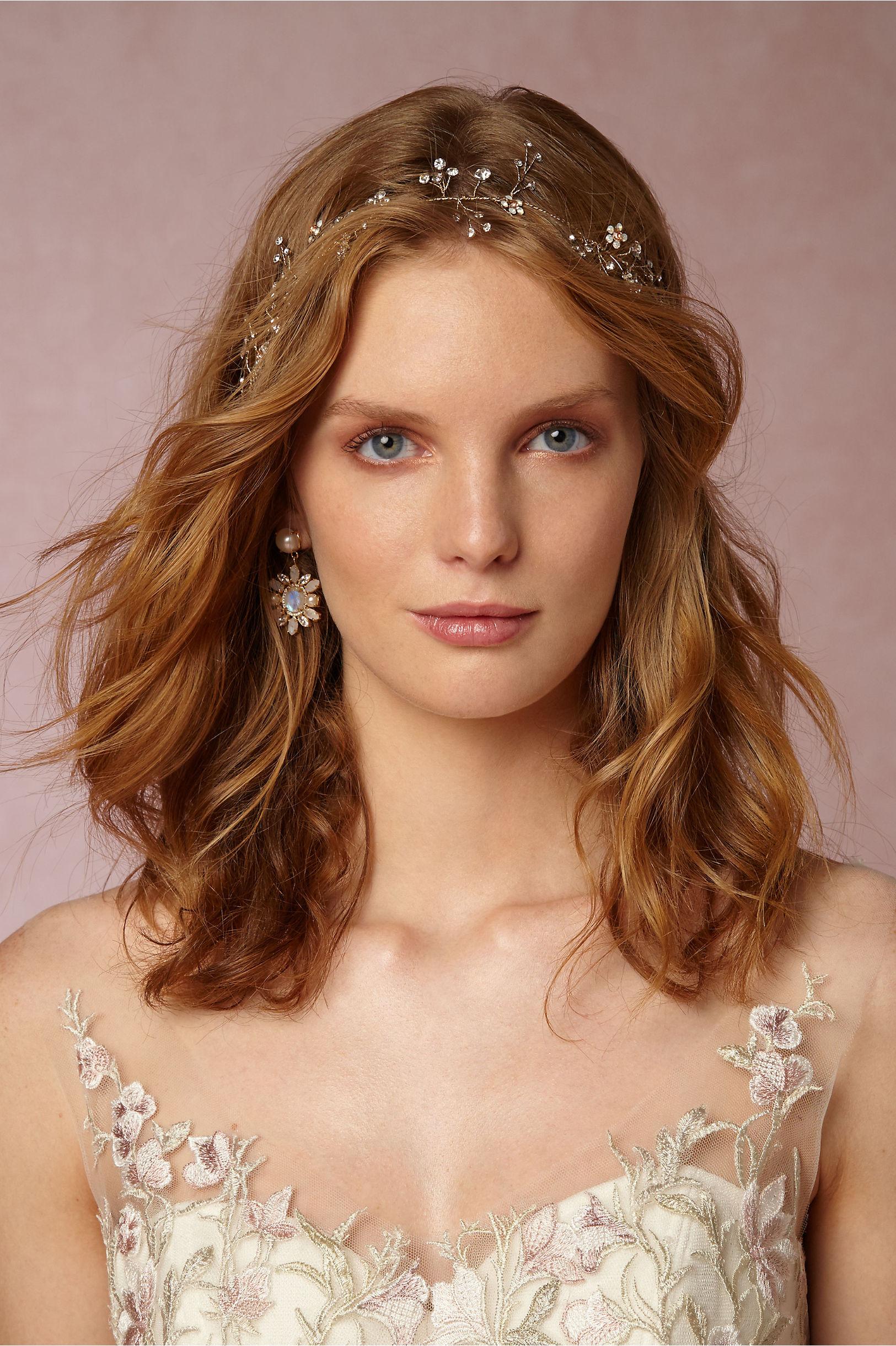 Br Bridal Headpieces Twigs And Honey - Twigs honey gold cerise halo bhldn
