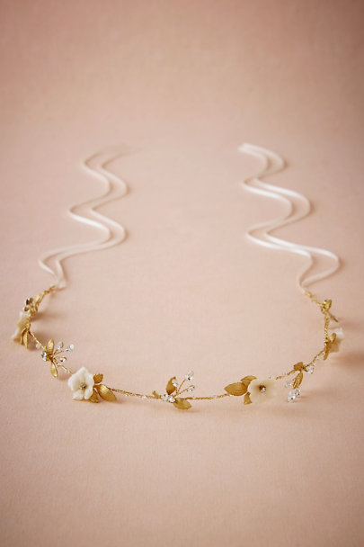 Percy Handmade Gold Margarita Headpiece | BHLDN