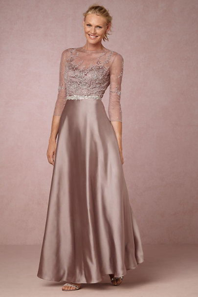 Hitherto Purple Olesya Dress | BHLDN