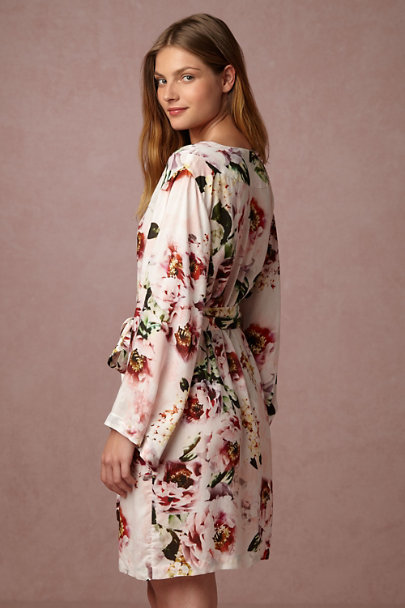 Plum Pretty Sugar Elisabetta Botanic Garden Robe | BHLDN