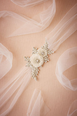 Sparkled Bloom Sash
