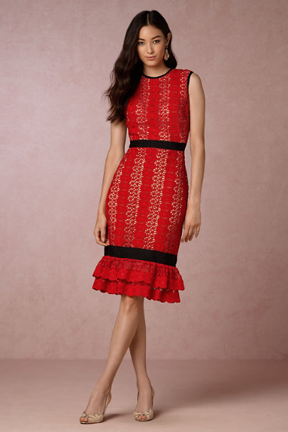 Catherine Deane Red Italia Dress | BHLDN