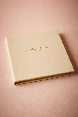 Gold Scripted Wedding Journal