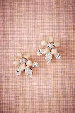 Jasmine Crystal Earrings
