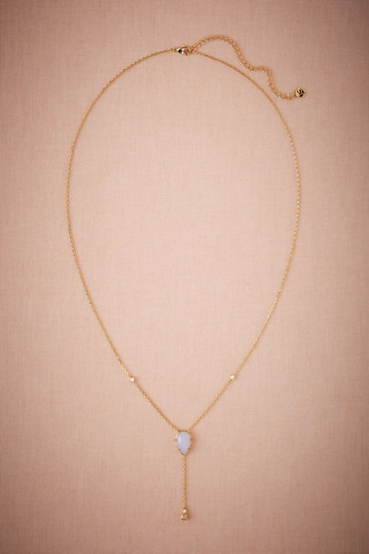 Gold Adriana Opal Necklace | BHLDN