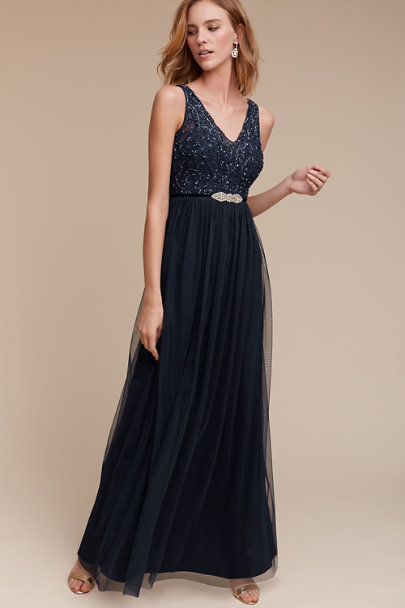 Adrianna Papell Midnight Orlene Dress | BHLDN