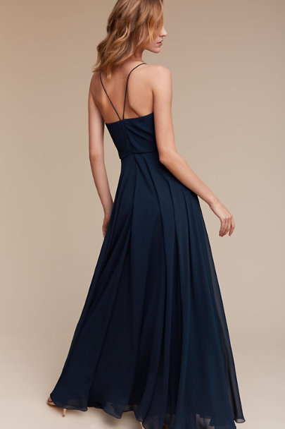 Jenny Yoo Navy Inesse Dress | BHLDN
