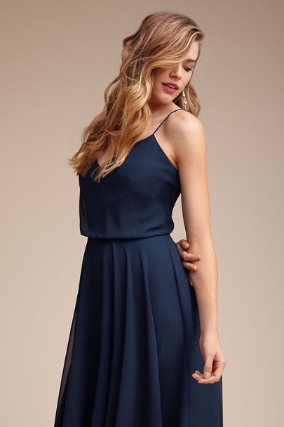 Jenny Yoo Navy Sienna Dress | BHLDN