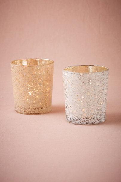 Rose Lace Votive | BHLDN