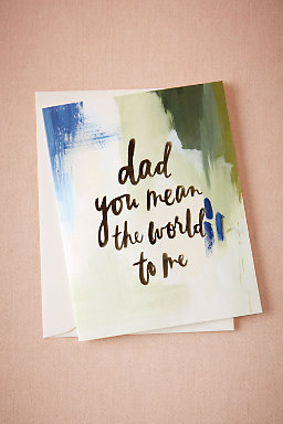 For Dads Card