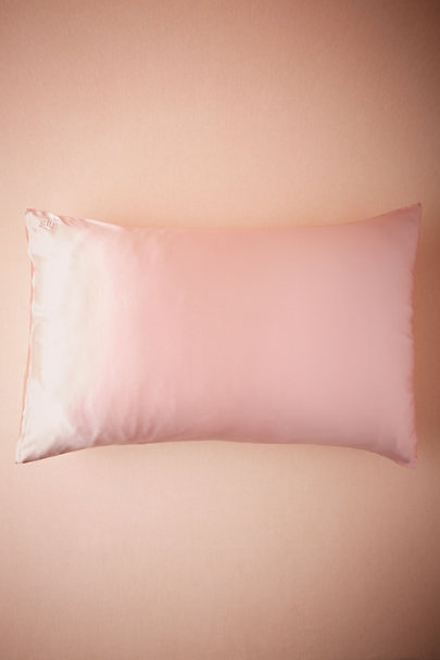 Pink Silk Pillowcase | BHLDN