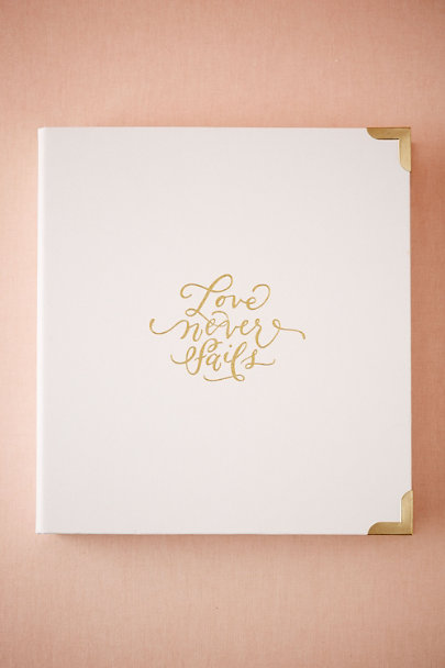 White Joyful Wedding Planner by Southern Weddings | BHLDN