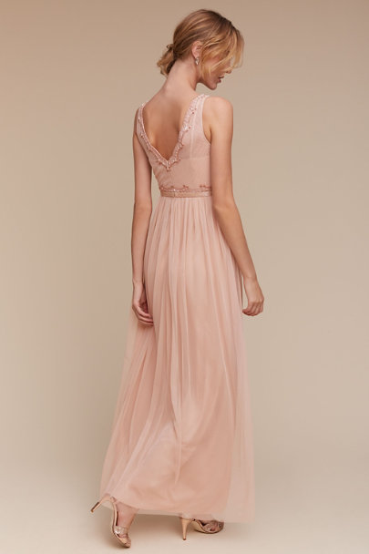 Adrianna Papell Blush Orlene Dress | BHLDN