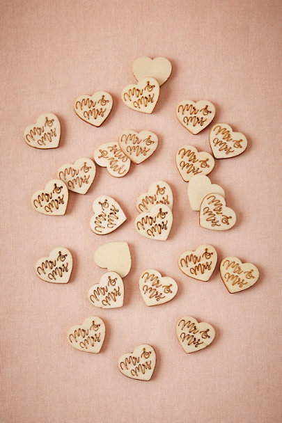 MR & MRS Love Note Confetti (25) | BHLDN