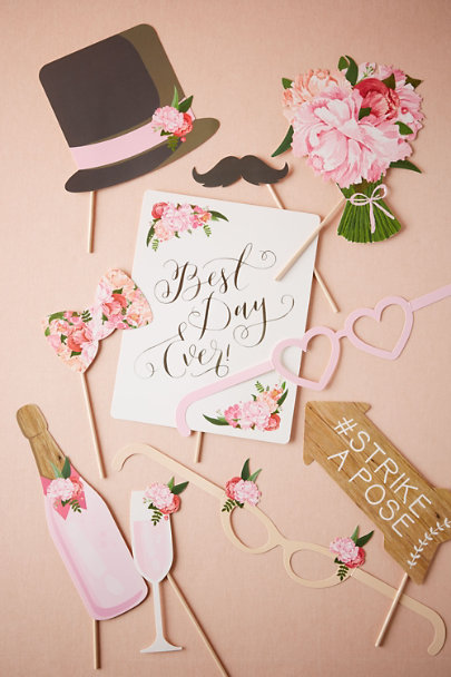 Pink Floral Prop Kit (10) | BHLDN