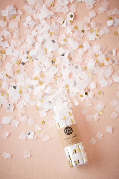 Gold Pop of Gold Confetti | BHLDN