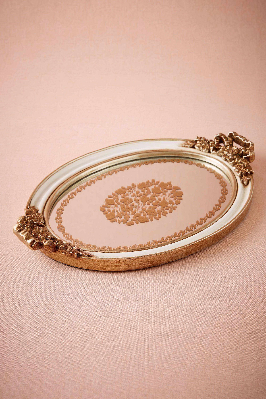 Baroque Mirror Tray