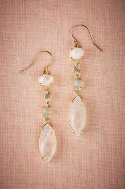 Gold Jadia Drop Earrings | BHLDN