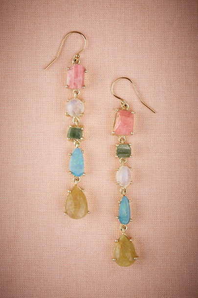Gold Azuca Drop Earrings | BHLDN