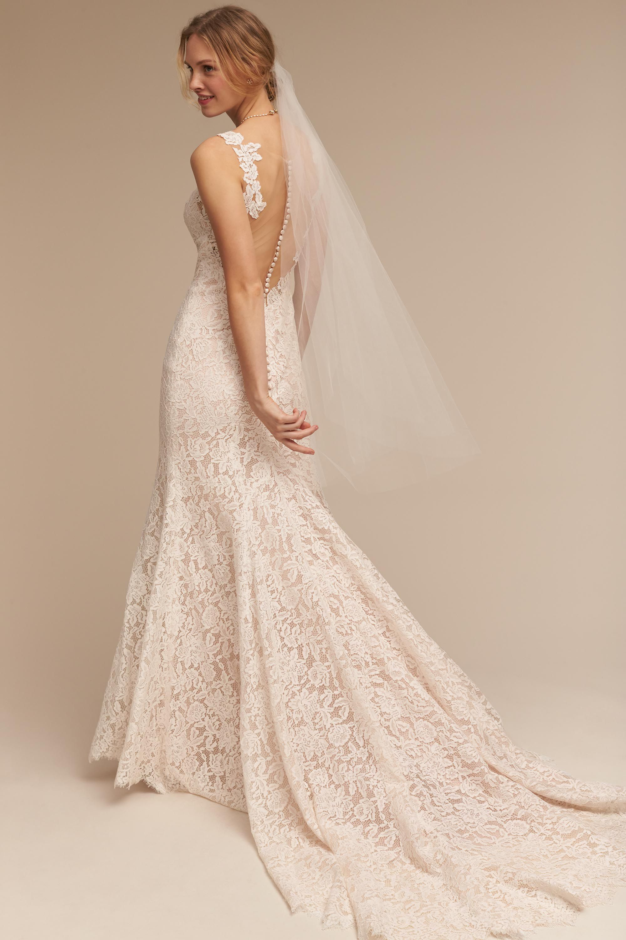 Wedding Wedding Dress Lace lace wedding dresses vintage gowns bhldn carson gown gown