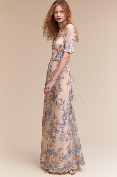 Adrianna Papell THUNDERCLOUD/GOLD Guilia Dress | BHLDN