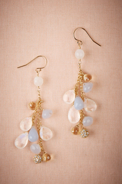 Gold Cecilia Chandelier Earrings | BHLDN