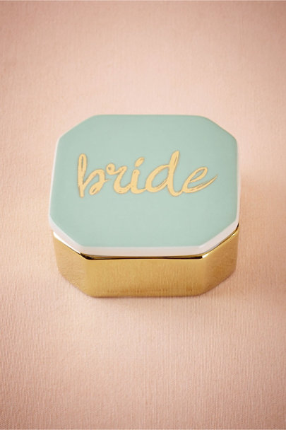 Turquoise Bride Trinket Box | BHLDN