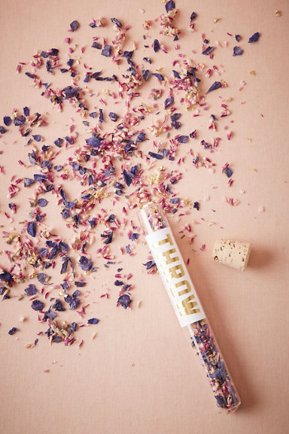 Purple Eco-Friendly Floral Confetti | BHLDN