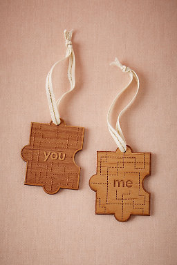 You & Me Puzzle Ornament
