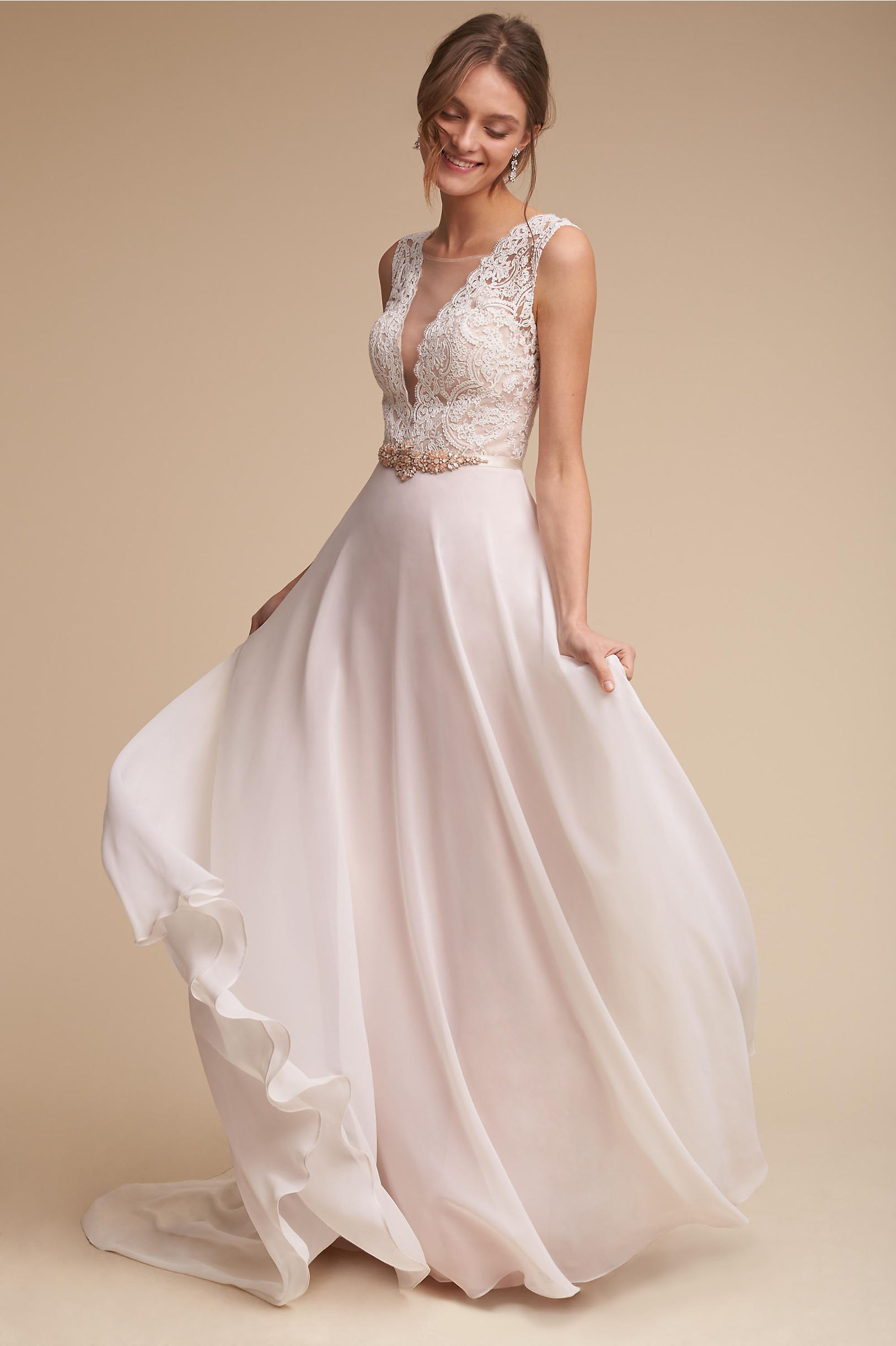 A-Line Wedding Dresses | 2015 A-Line Wedding Dress Styles | BHLDN