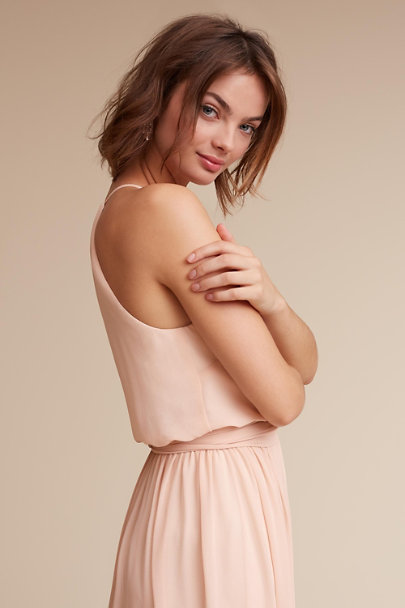Donna Morgan Blush Alana Dress | BHLDN