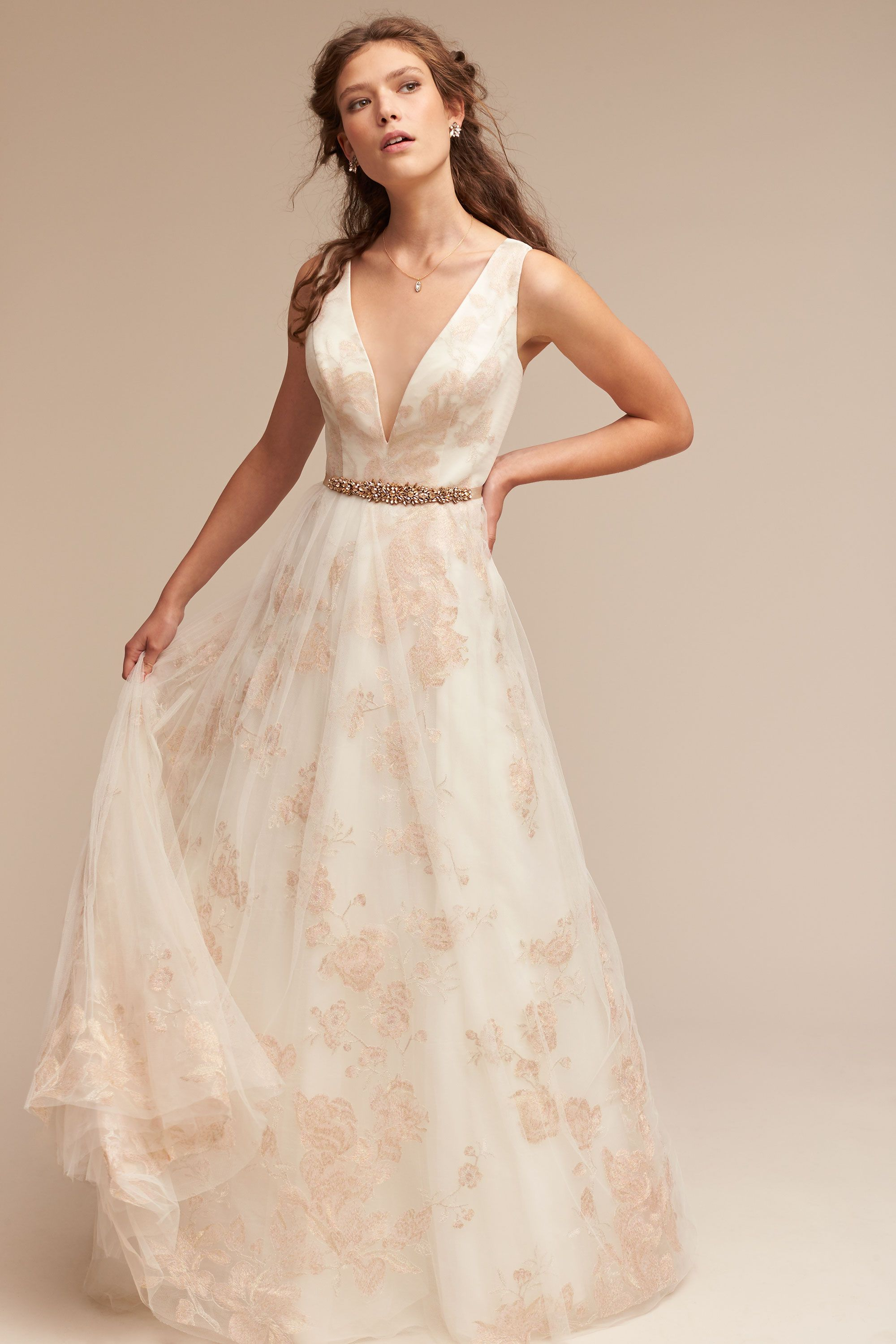 Romantic BHLDN Wedding Dresses - Lily Gown