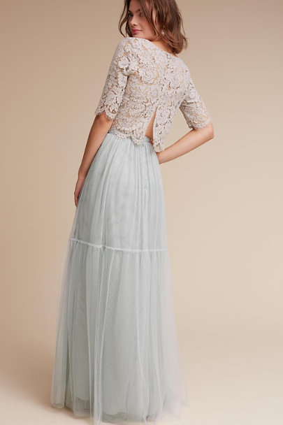 Jenny Yoo Harbor Mist Libby Top | BHLDN
