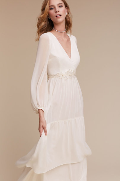 Donna Morgan Ivory Quince Dress | BHLDN