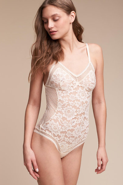 Cream Ryka Bodysuit | BHLDN
