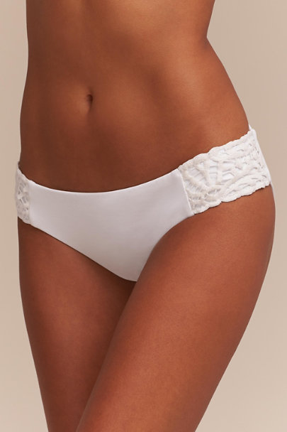 White Shari Bikini Bottom | BHLDN